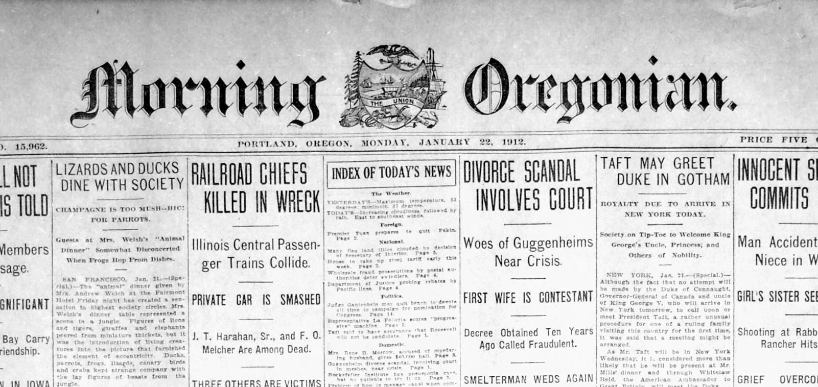 shake up at the Oregonian