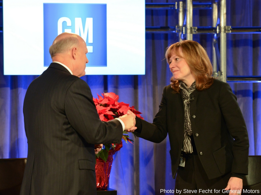 GM's first female CEO