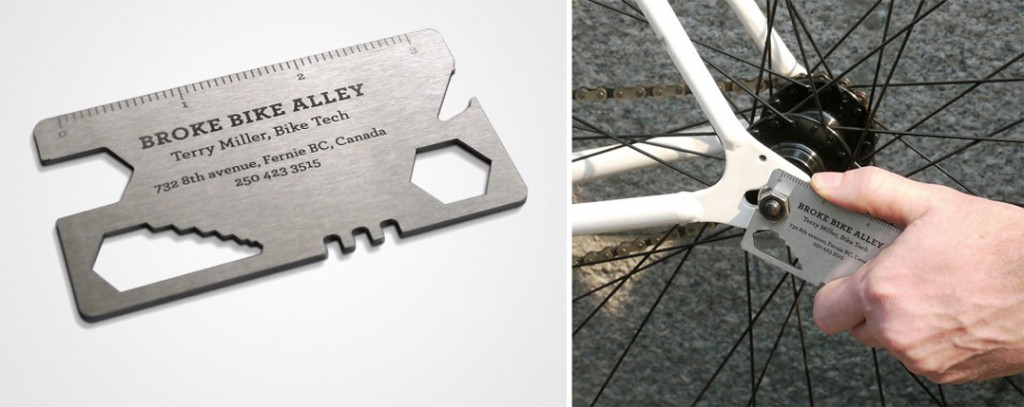 Bike repair Creative Business Card Designs