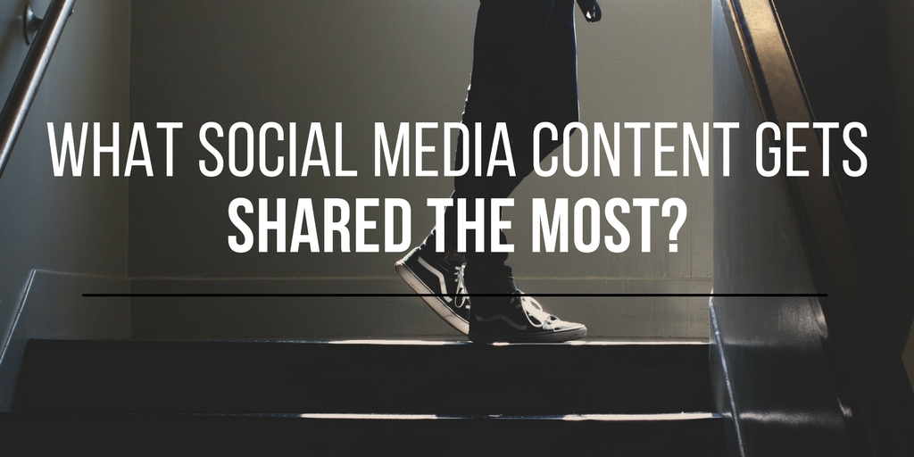 What Social Media Content Gets Shared the Most